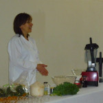 Chef Lovena Galyide, Indigo Raw Food Cafe