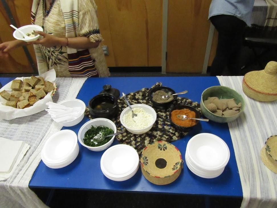 Ethiopian Food Tasting